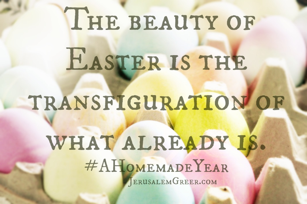 beauty of easter quote