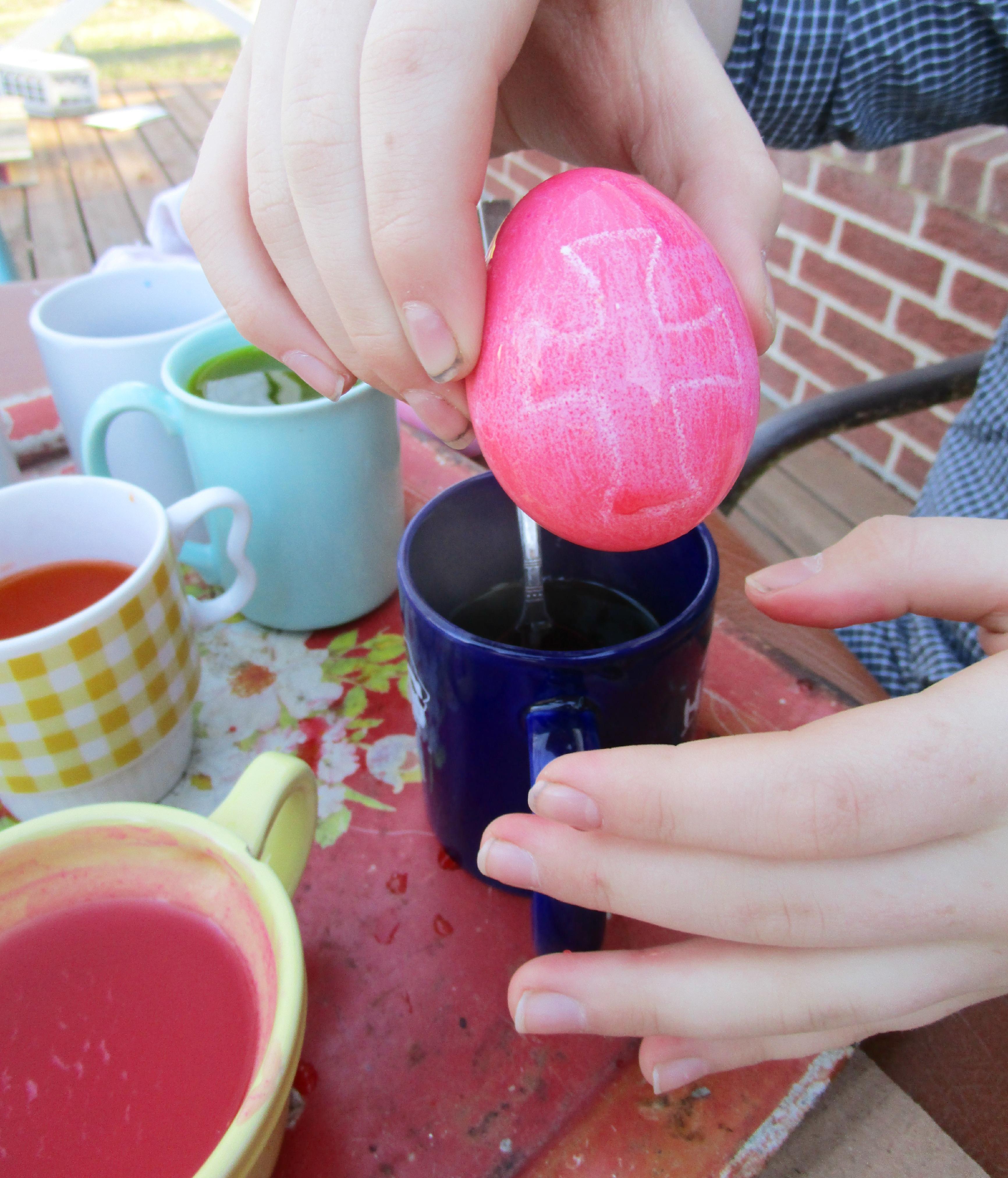 cross egg