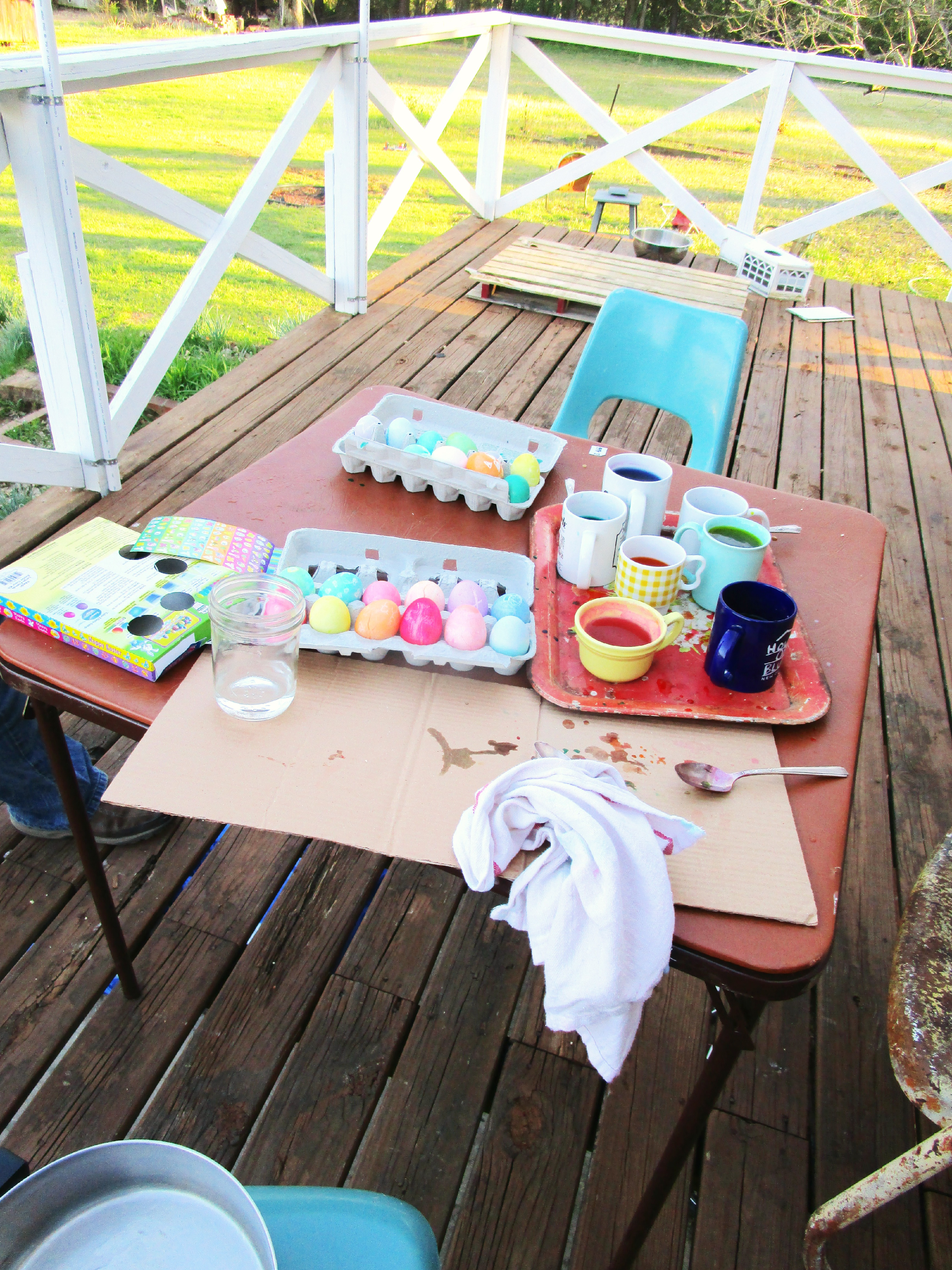 deck and dye