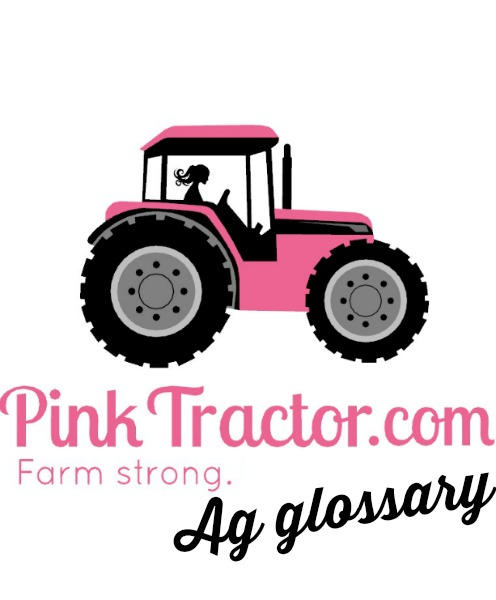 pink tractor glossary