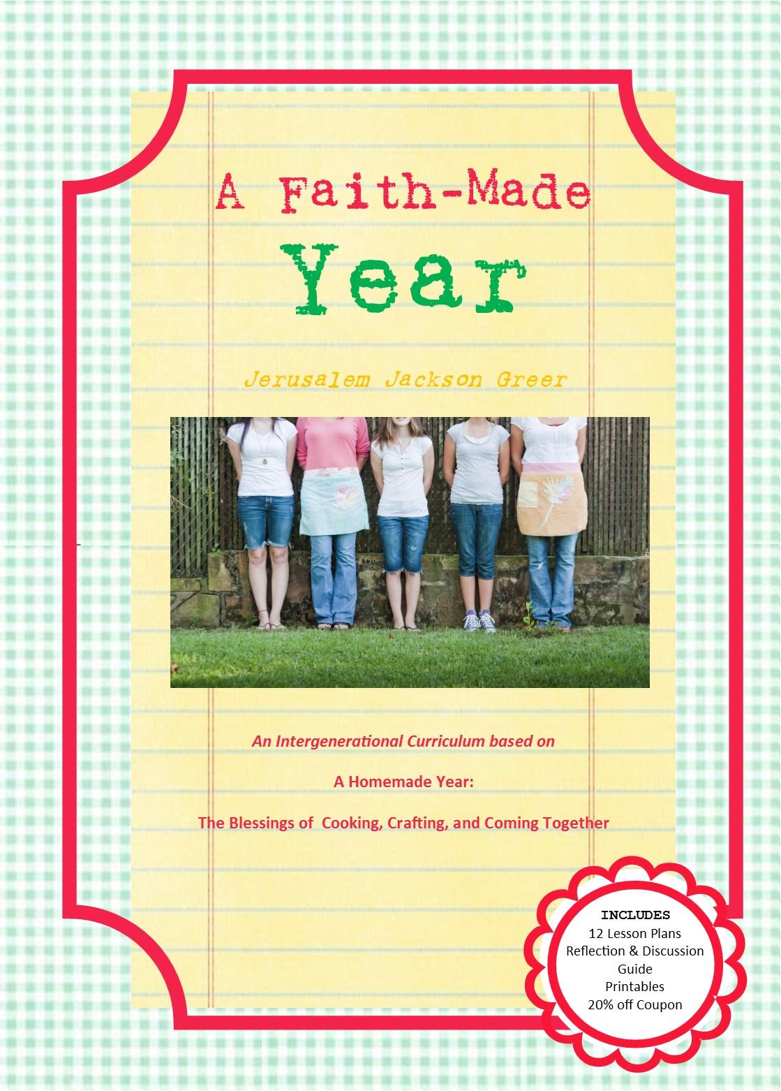 A Faith Made Year Cover