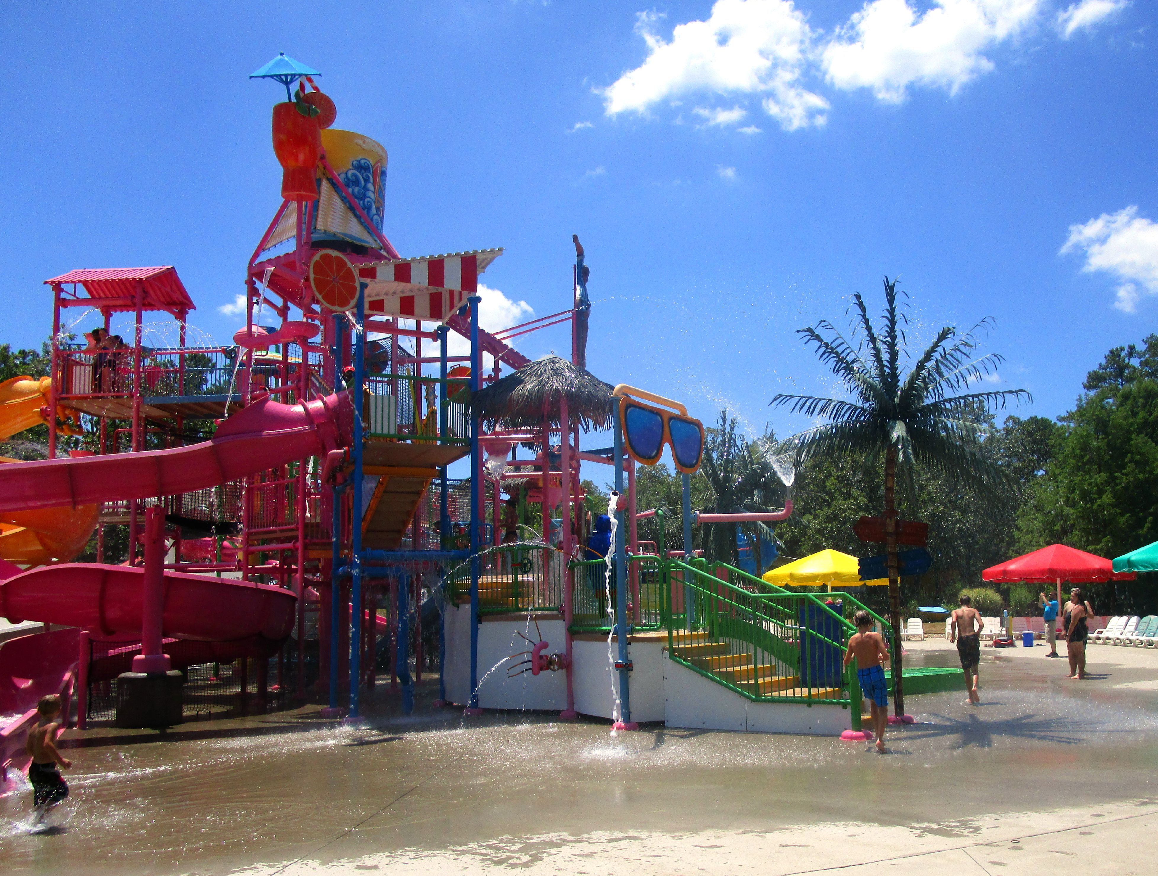 Magic Springs Splash Island