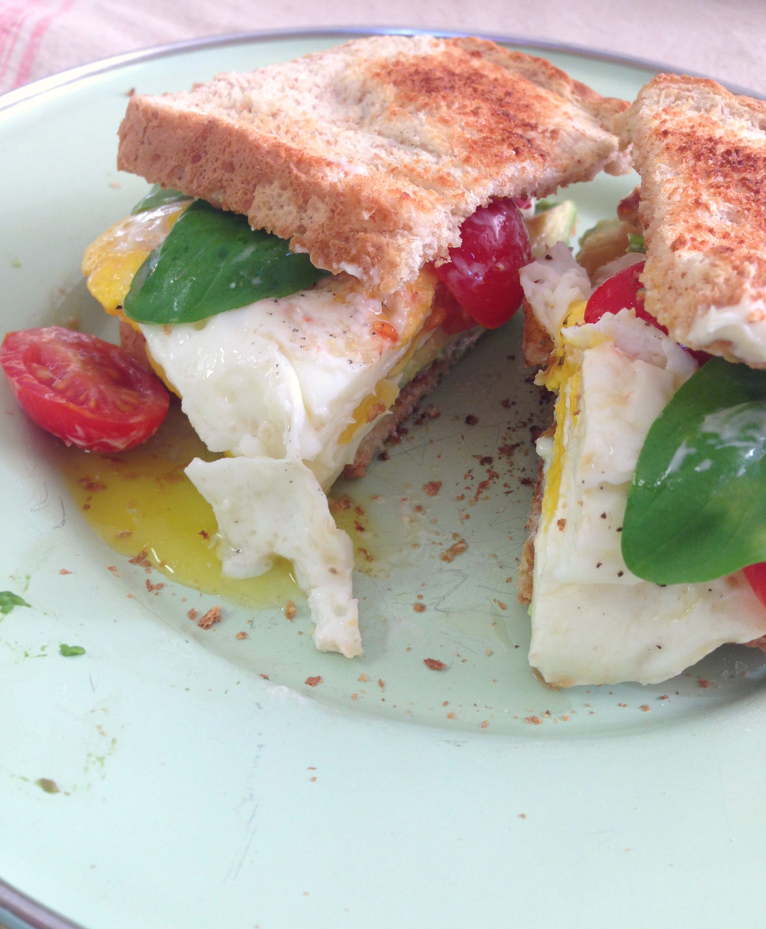 Basil Breakfast Sandwich