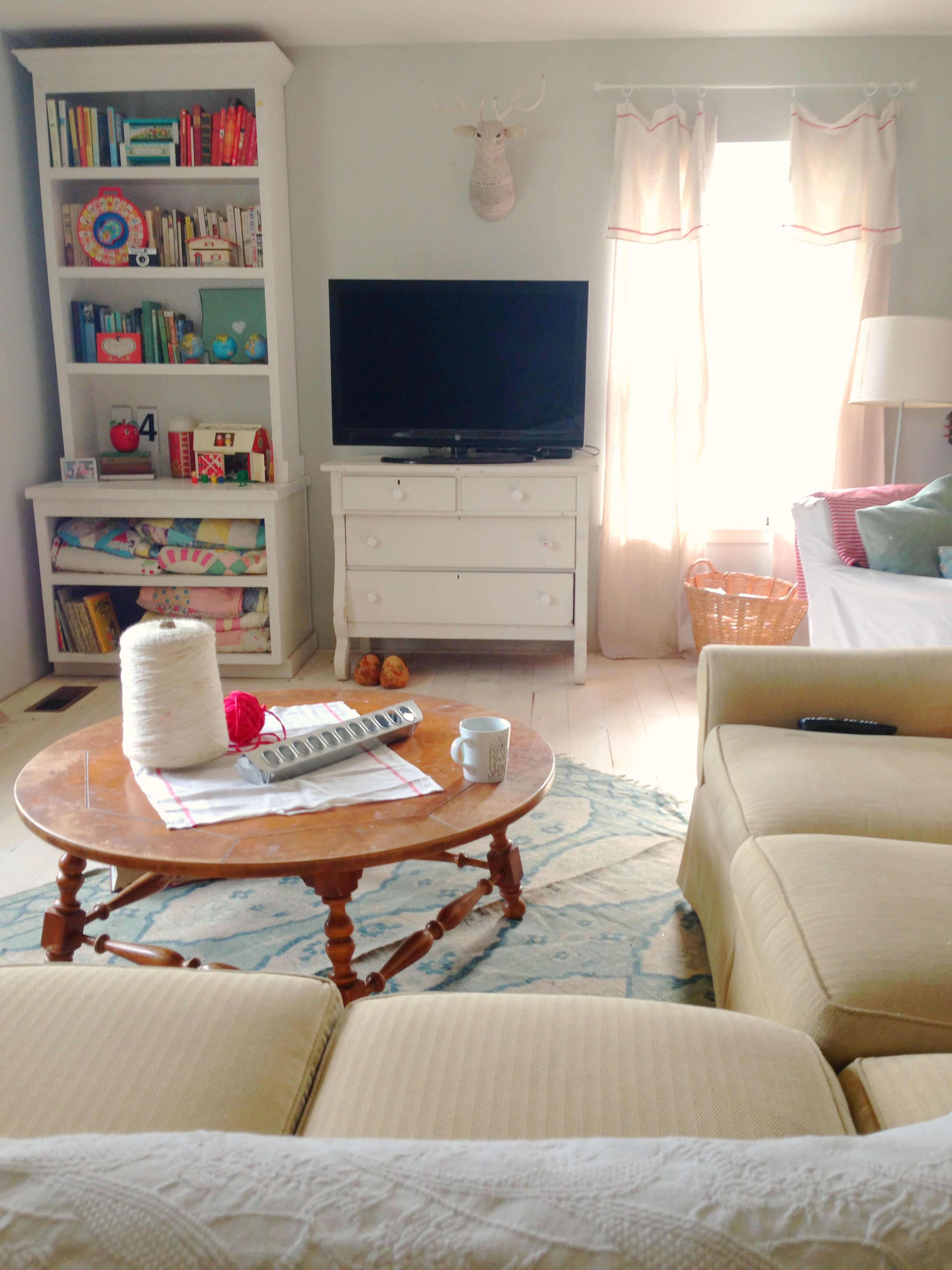 Homespun Entertainment Area