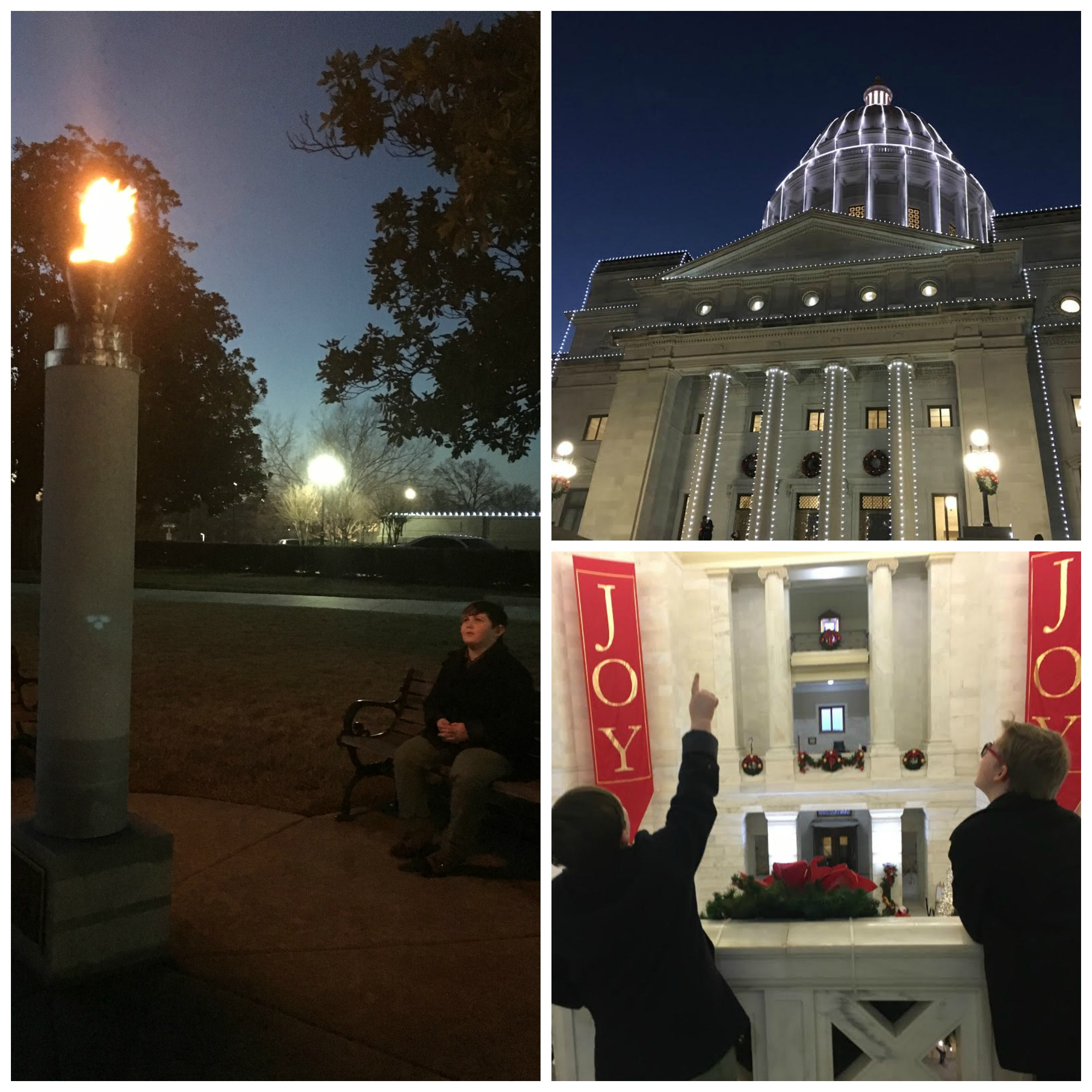 Arkansas State Capital Collage 1