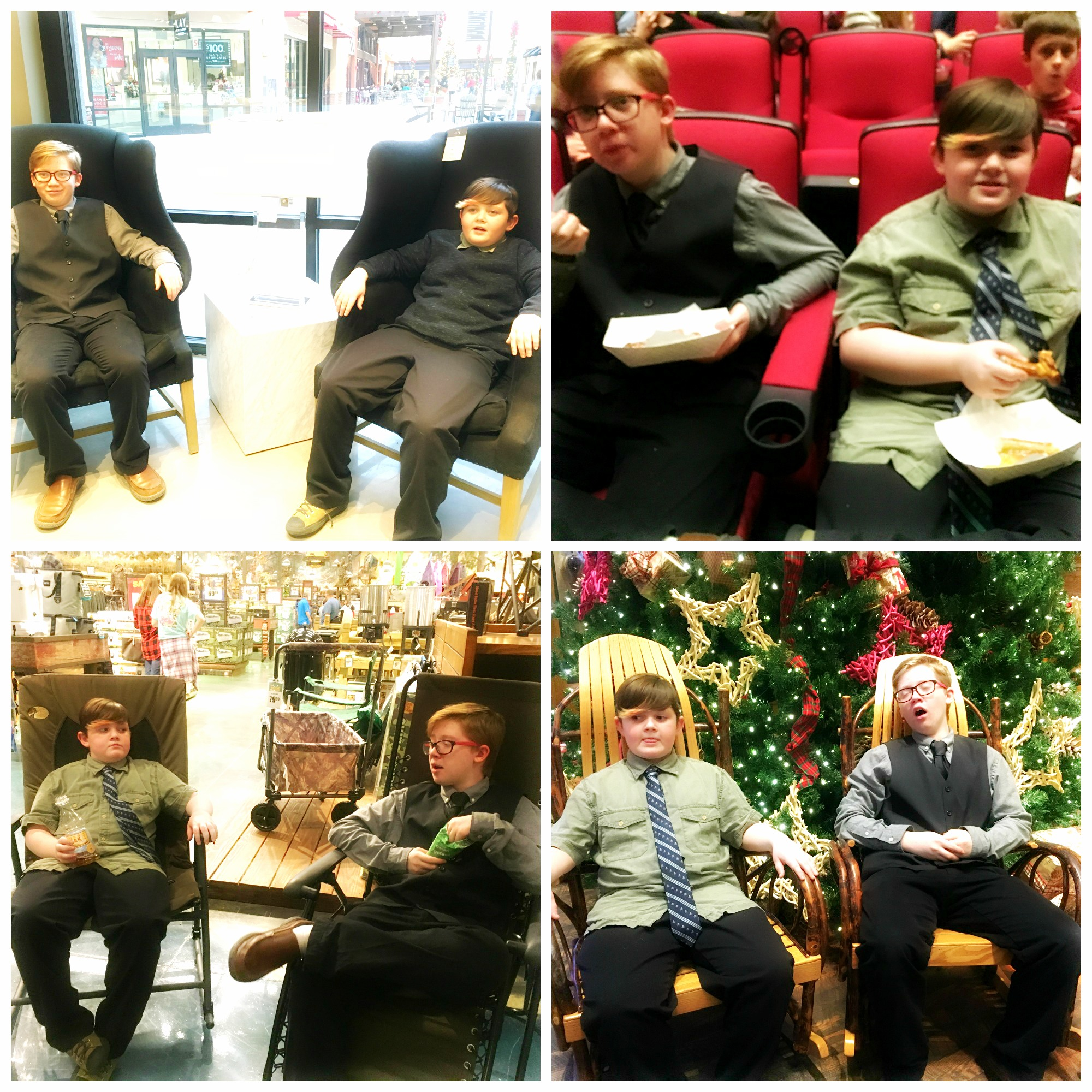 Boys in Chairs
