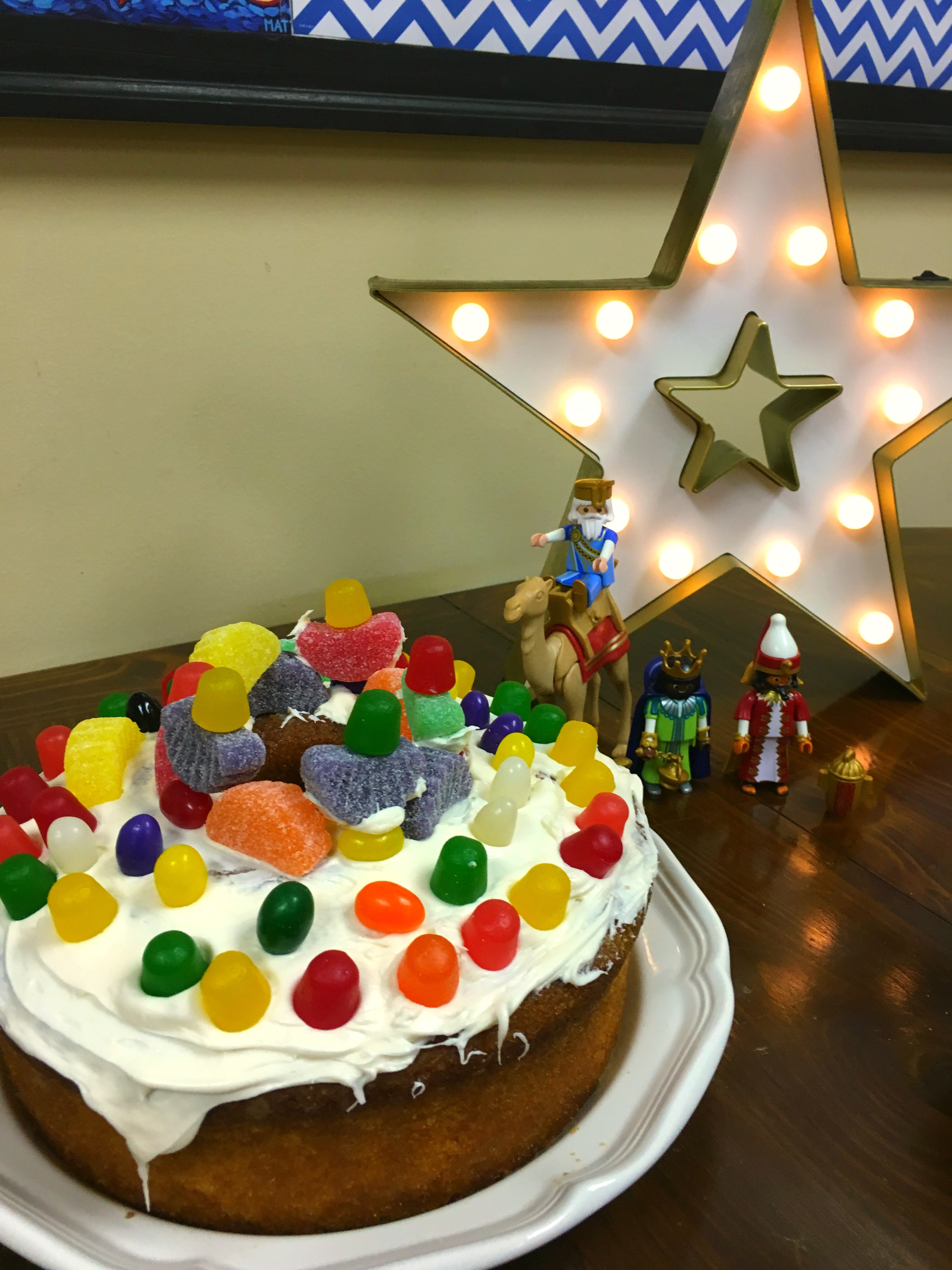 Cake and Star