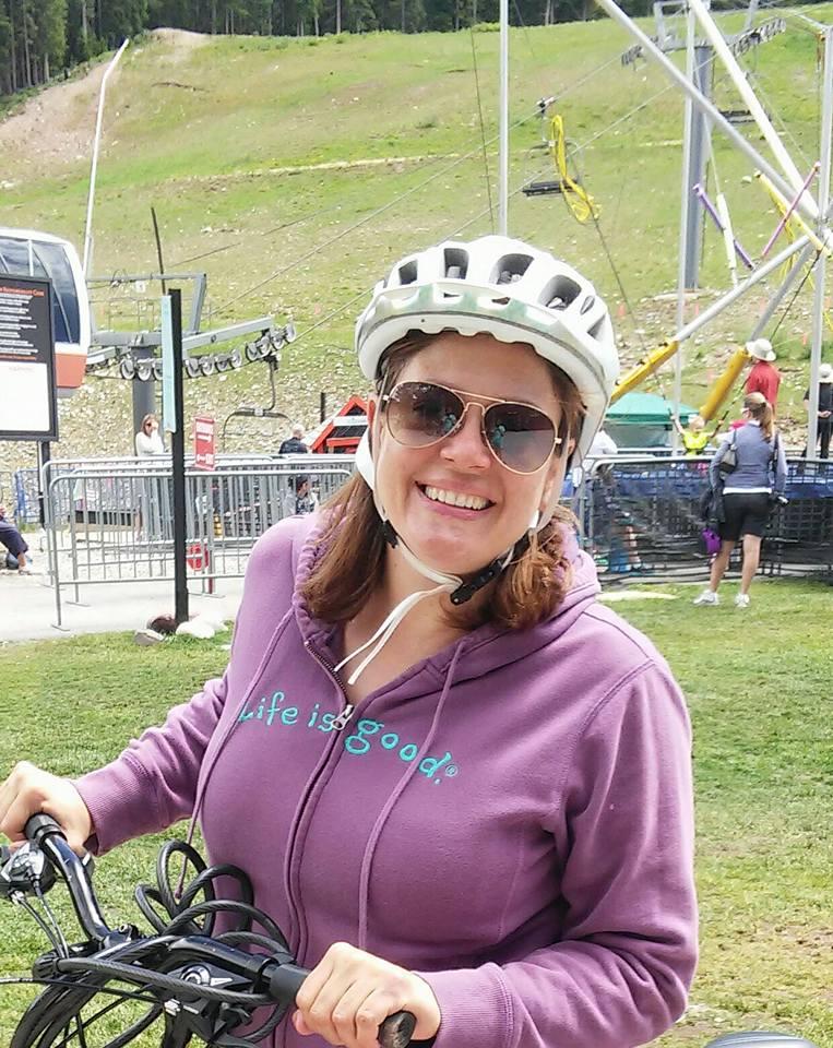 Jenn on Bike - Copy