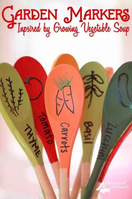 DIY-Garden-Markers-Inspired-by-Lois-Ehlerts-Growing-Vegetable-Soup-433x650